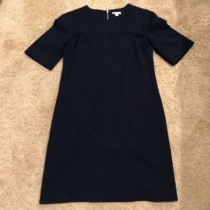 Navy Gap Sleeved dress size 0 thick material